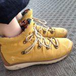 雨の日にもOK!コロンビアのオムニテック靴